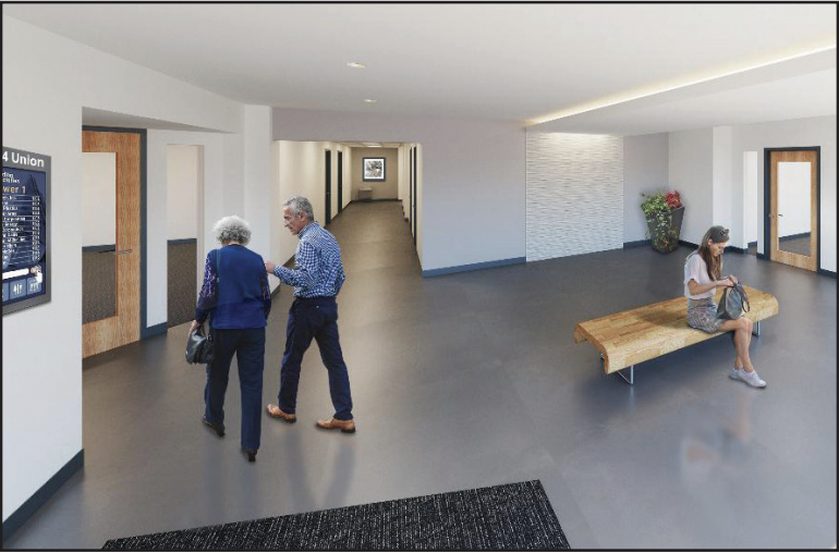 Bartell and Company Real Estate renovates Lakewood office bldg.